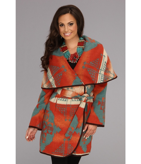 Tasha Polizzi Big Blanket Coat