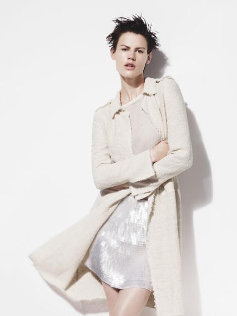 Саския де Брау для Zara Spring 2012 Campaign.