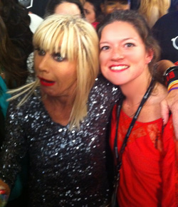 Betsey Johnson and Alix Kivlin