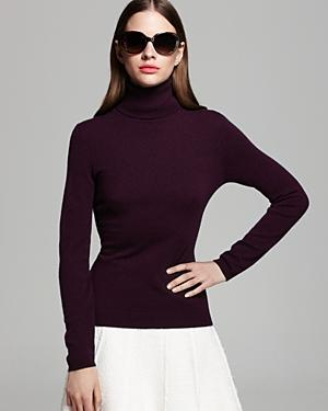 C by Bloomingdale's Cashmere Turtleneck