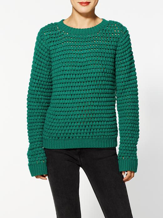 Textured Pullover by Aryn K.