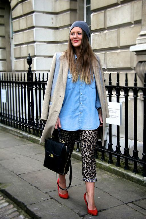 All the best wardrobe staples + leopard!