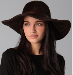 How To Wear A Floppy Wide Brim Hat And Not Look Like Pimp Sharon cfb17507a7b