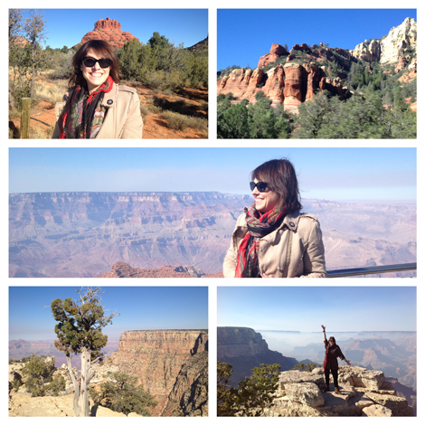 The sheer magnificence of nature at Sedona and the Grand Canyon