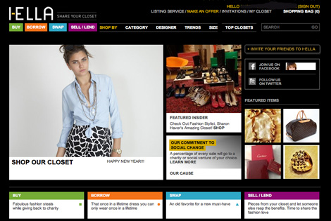 Today's i-Ella.com home page