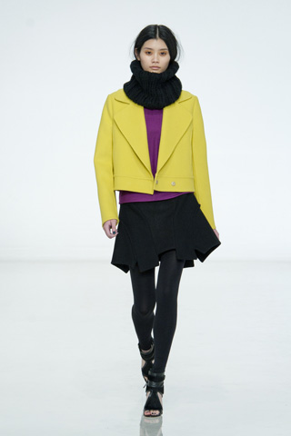 Prabal Gurung  for ICB fall 2012 collection