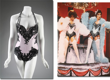 Lot 22: BETTE MIDLER LEOTARD BY BOB MACKIE