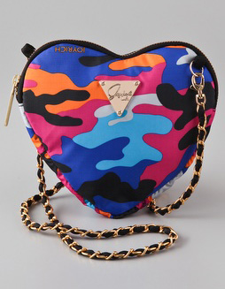 LeSportsac  Joyrich Candy Camo Heart Pouch at Shopbop