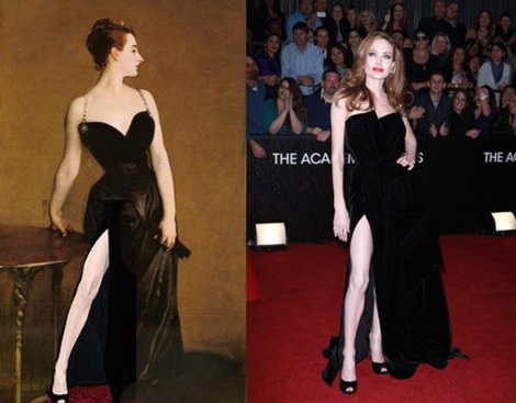 Madame X first, Angelina Jolie second.