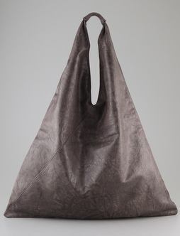 MM6 Maison Martin Margiela Leather Bag would honor the lines of the Boulee dress