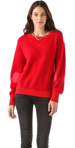 Marc by Marc Jacobs Nika Sweater in fire red