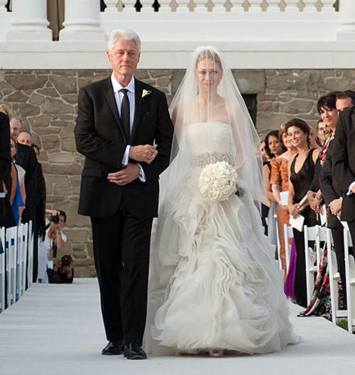 Chelsea Clinton Wedding Gown