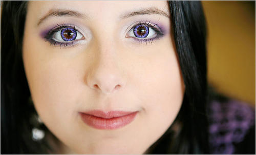 What Big Eyes You Have, Dear, but Are Those Contacts Risky? via The New York Times