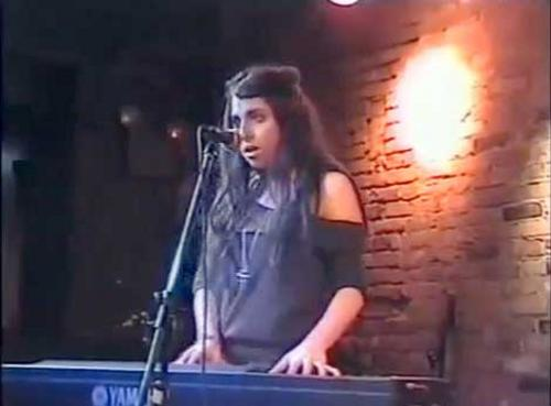 Stefani Germanotta at the Bitter End in NYC , 2006