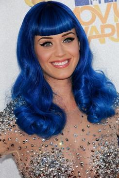 Katy Perry Blue Hair on Katy Perry Smurfette Blue Hair Wig Is California Gurls Cool On The Red