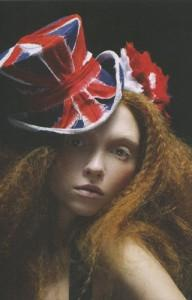 Union Jack Top Hat from Stephen Jones' S/S 05 collection