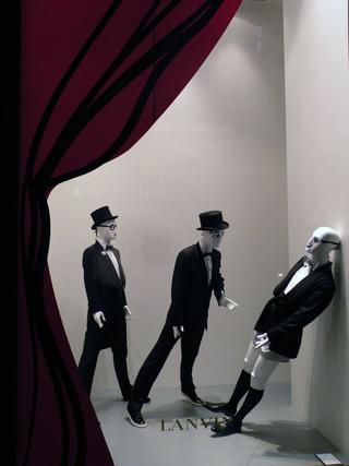 Lanvin Paris Christmas windows
