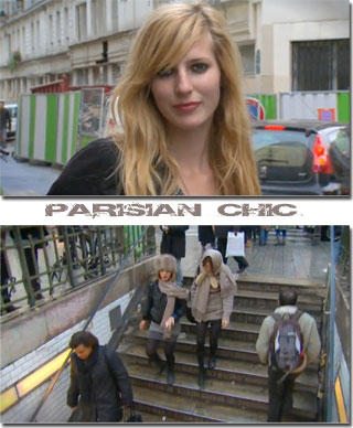 Still compiled from H&M Parisian chic video