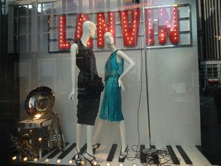 Lanvin in the West 57th Street Windows