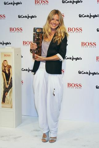 Sienna Miller Launches New Hugo Boss Fragrance