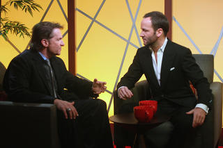 "Peter Guber and Tom Ford chat about A Simple Man on Encore's new half-hour news and interview series, ""In The House"""
