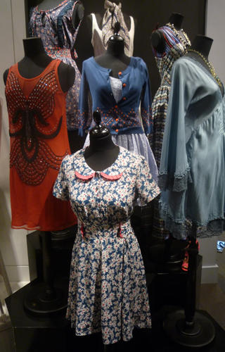 Topshop in store display- something for everyone!