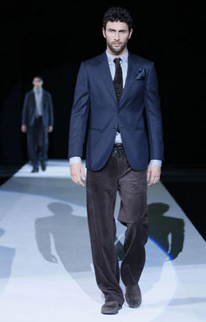 men's fashion on ramp on Pinterest