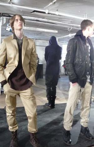 A selection from the Andrew Buckler Fall / Winter 2010 fashion presentation