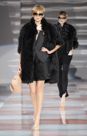 Emporio Armani Fall / Winter 2010 runway