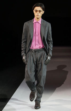 Giorgio Armani Men's Collection- Fall / Winter 2011