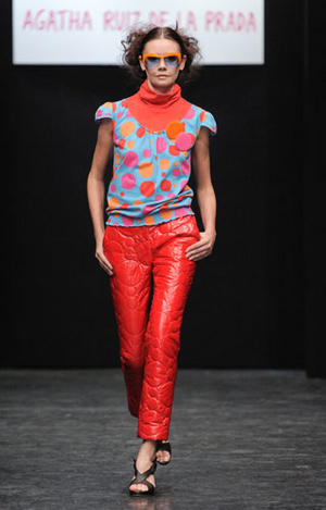 Agatha de la Prada runway- Russian Fashion week