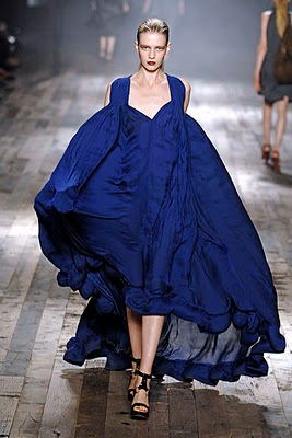 Alber Elbaz's cool take on Parisian glamor, Lanvin S/S 2008