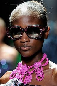Even accessories were given major priority as seen at Lanvin S/S 2009