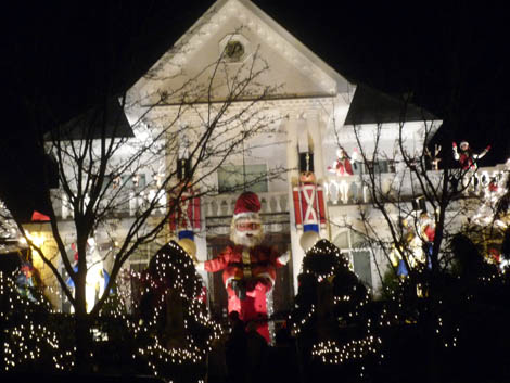 Christmas decorations in Dyker Heights, Brooklyn