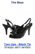 black slingback shoes