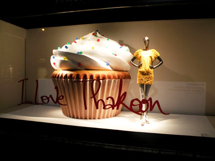 Thakoon and a yummy cupcake