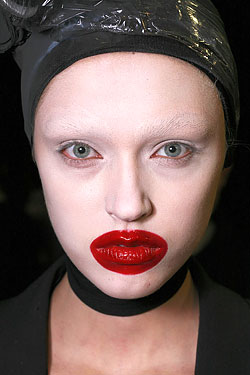 alexander mcqueen used makeup to make a statement beyond
