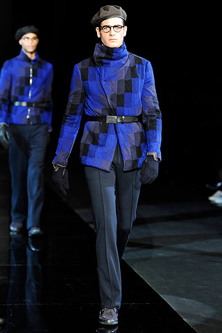 Giorgio Armani Menswear Collection, Fall 2010 Milan