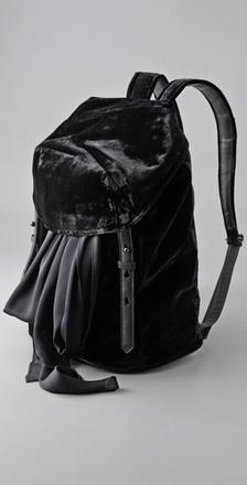 Alexander Wang - Sydney Velvet Backpack at ShopBop