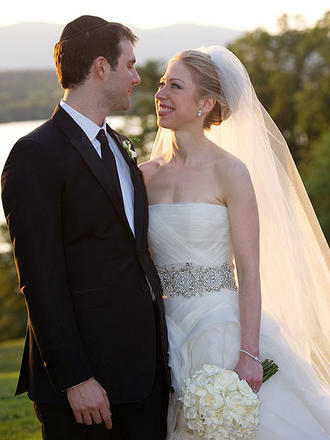 Marc Mezvinsky and Chelsea Clinton