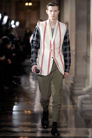 Dries Van Noten Menswear Collection Fall 2010