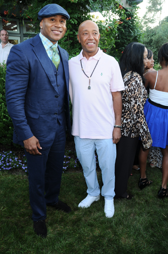 LL Cool J and Russell Simmons