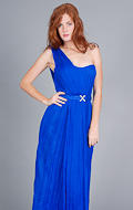 Elegant Blue Gown by House of Dereon