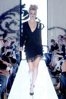 Elizabeth Emanuel- The Little Balck Dress Collection- Spring 2011