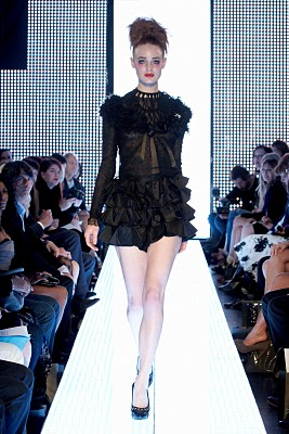 Elizabeth Emanuel- The Little Black Dress Collection- Spring 2011