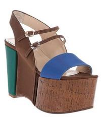 Fendi Platform Sandal at Farfetch.com