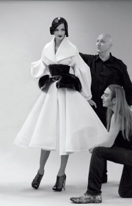 For Dior with John Galliano