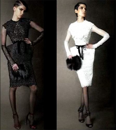 The dress as seen on TomFord.com