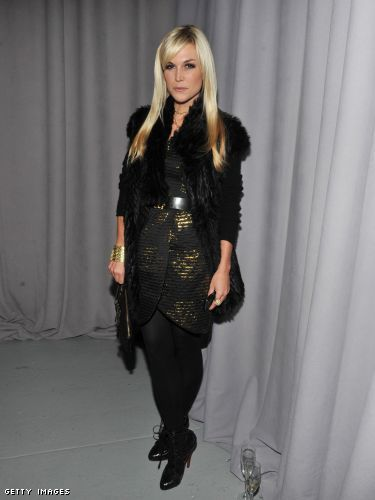 Tinsley Mortimer at Marchesa Fall 2011