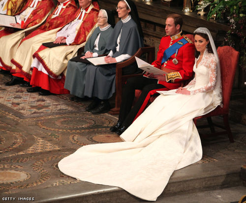 The Wedding Ceremony Takes Place Inside Westminster Abbey